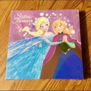 Disney Elsa&Anna Sister's forever canvas wall Art